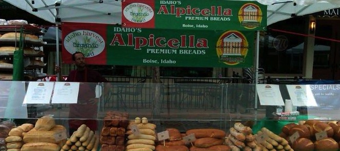 Alpicella Bakery at Boise Farmers Market
